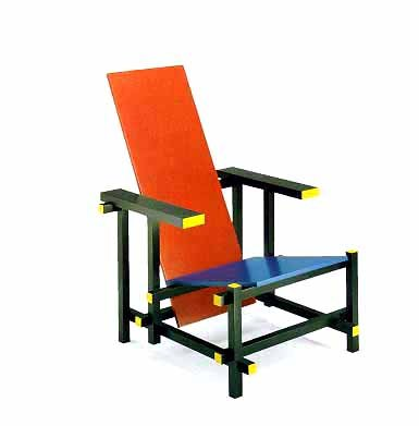 Delicieux Famous De Stjil Chair U0027Red And Blue Chairu0027 By Gerrit Rietveld