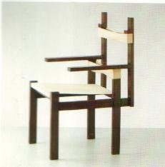 Wood Slat Chair 1923